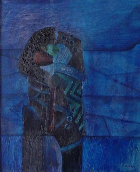 Fernando de Szyszlo Blue Shadows Fernando de Szyszlo WikiArtorg