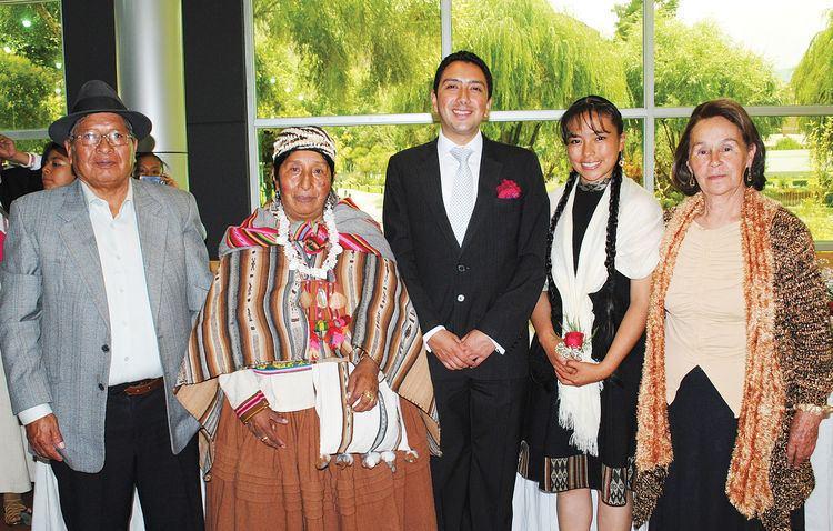 Fernando Huanacuni Mamani Boda de Cecilia Pinedo y Fernando Huanacuni La Razn