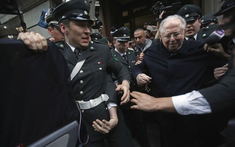 Fernando Karadima Chilean priest punished by the Vatican for abuse claims he is