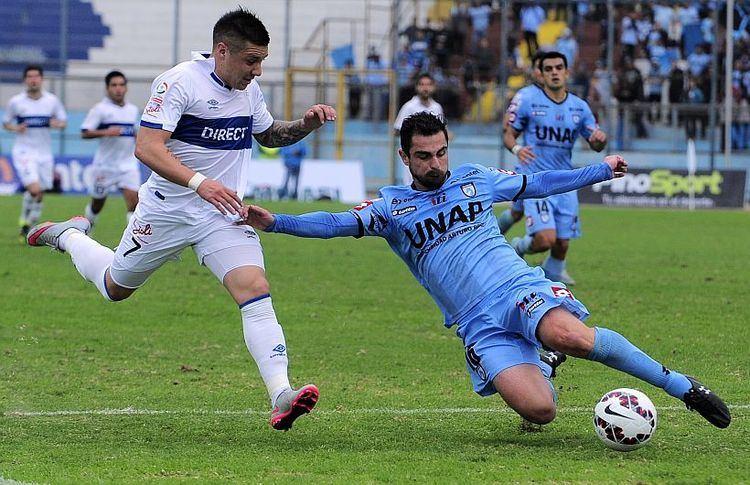 Fernando Lazcano Fernando Lazcano Llego a Deportes Temuco a pelear un puesto