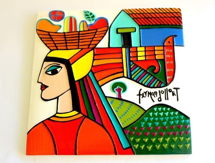 Fernando Llort Ceramic Fernando LLort