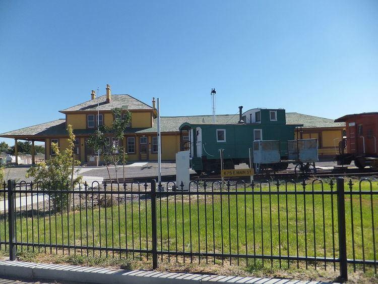 Fernley and Lassen Railway Depot