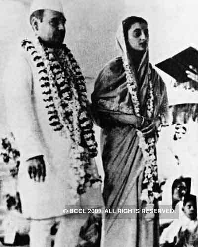 Feroze Gandhi A 1940s39 file picture of Congress leader and freedom