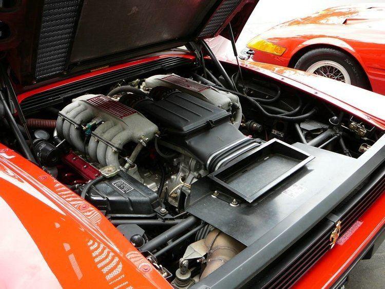 Ferrari flat-12 engine