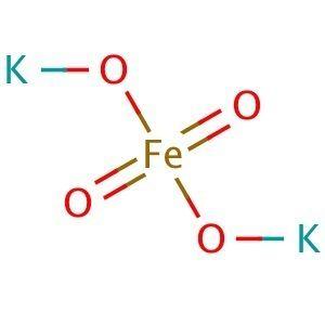 Ferrate(VI) Potassium ferrateVI CAS 39469868 SCBT