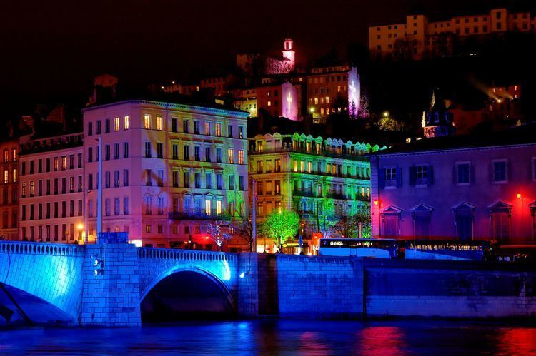 Festival of Lights (Lyon) Fete des Lumieres Festival of Lights Lyon France World