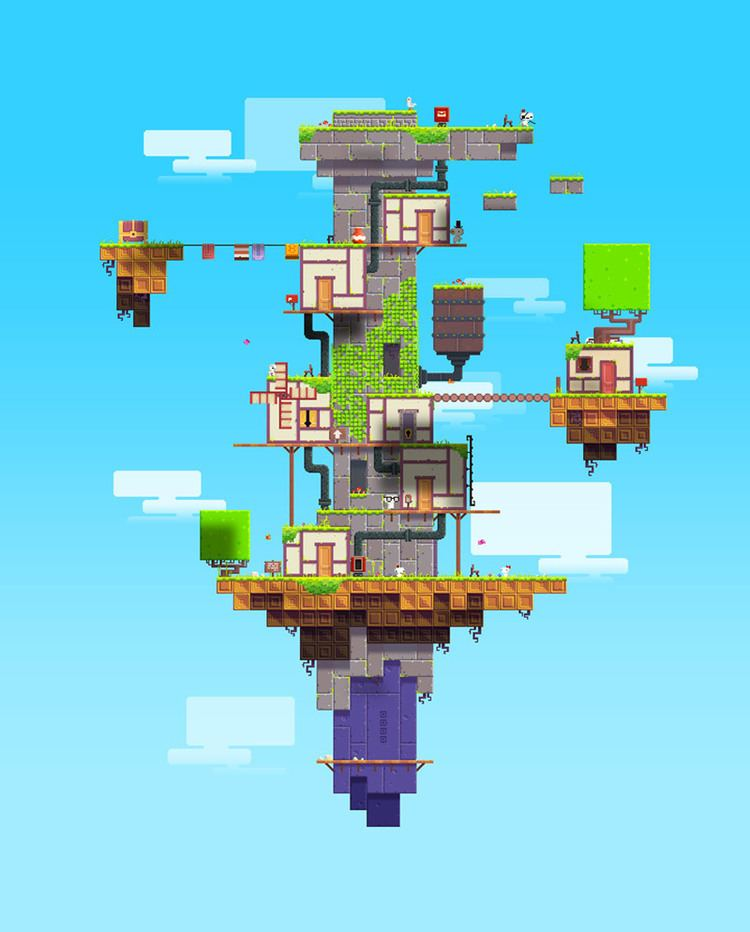 Fez (video game) FEZ a video game that will change your perspective literally