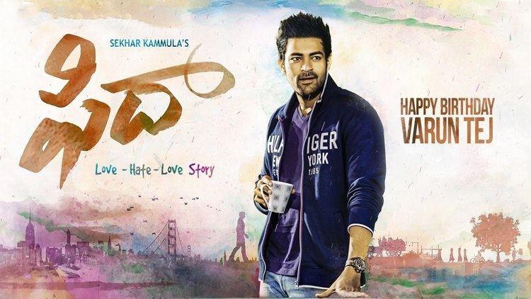Fidaa Fidaa First Look Motion Poster Happy Birthday Varun Tej YouTube