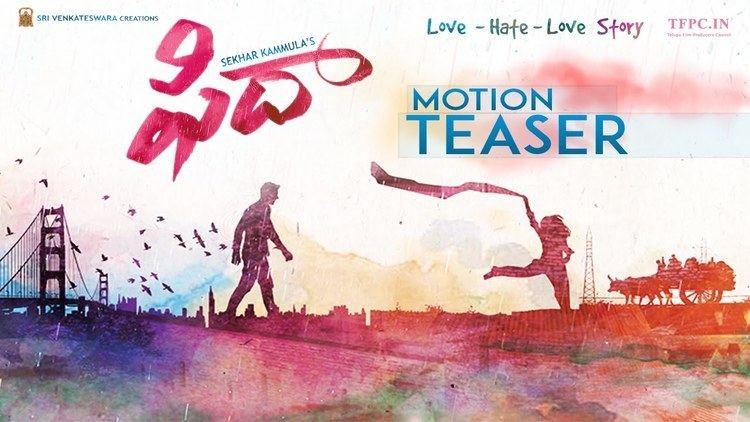 Fidaa Varun Tej39s Fidaa Movie First Look Teaser Sekhar Kammula Sai