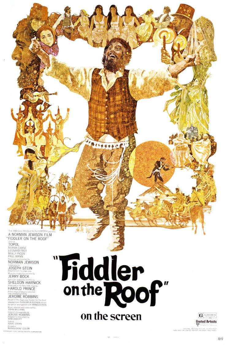 Fiddler on the Roof (film) wwwgstaticcomtvthumbmovieposters3441p3441p