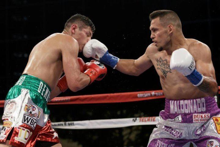 Fidel Maldonado Fidel Maldonado Gets Off The Deck To Beat Pablo Cesar Cano Boxing News