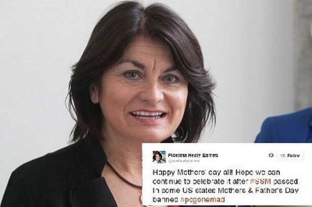 Fidelma Healy Eames Mother39s Day Senator Fidelma Healy Eames blasted on
