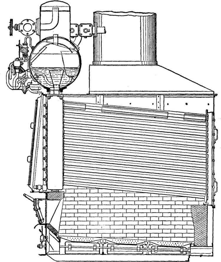 Field-tube boiler