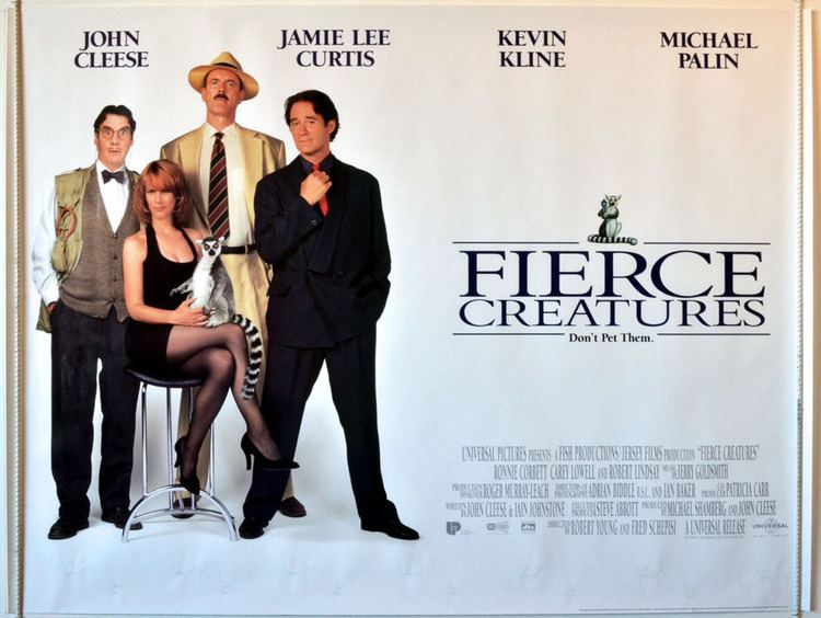 Fierce Creatures Fierce Creatures Original Cinema Movie Poster From pastposterscom