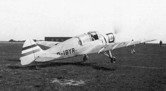 Fieseler Fi 97 Aircraft template
