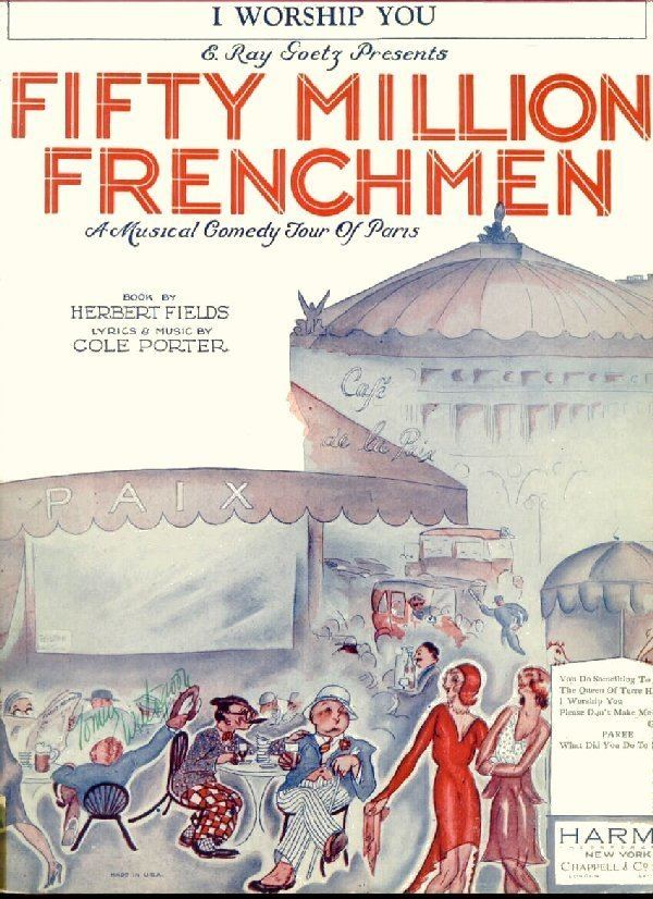 50 Million Frenchmen (film) wwwsondheimguidecomportergraphicssmfiftyjpg