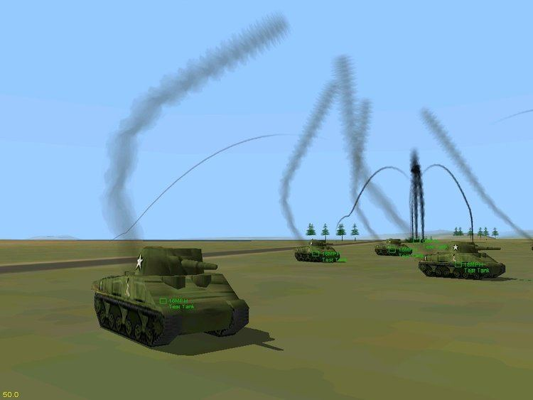 Fighter Squadron: The Screamin' Demons Over Europe Moving Test Tank addon Fighter Squadron Screamin39 Demons Over