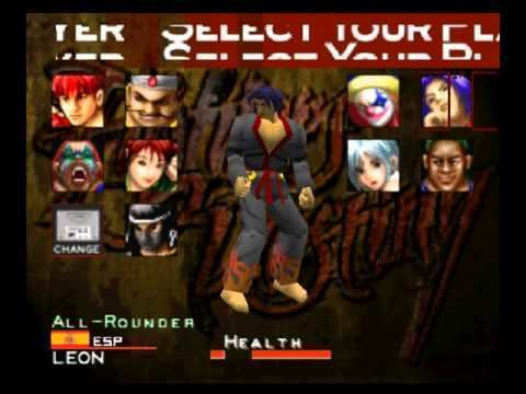 Fighters Destiny Fighters Destiny Character Select N64 YouTube