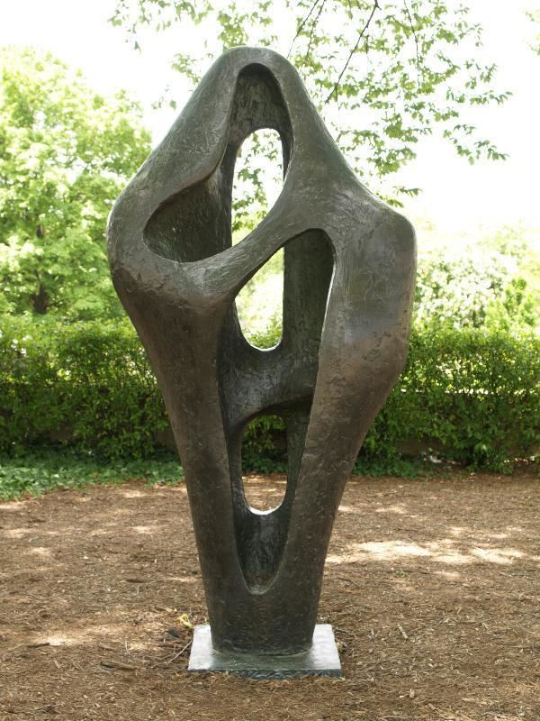 Figure for Landscape Washington DC Hirshhorn Museum and Sculpture Garden Figure for