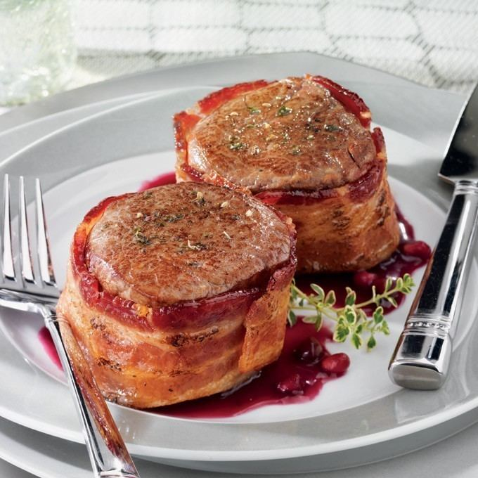 Filet mignon Bacon Wrapped Filet Mignon