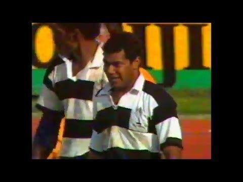 Fili Seru Fili Seru strong finish vs England 1991 YouTube