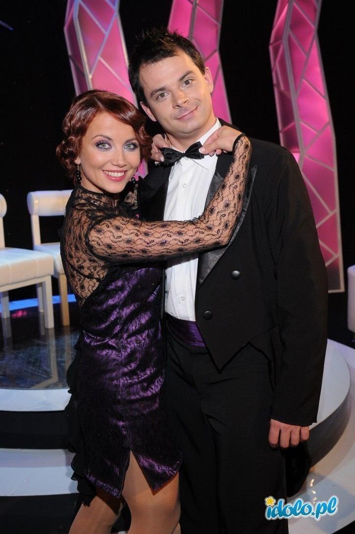 Filip Bernadowski Filip Bernadowski i Katarzyna Zieliska Gwiazdy tacz na lodzie