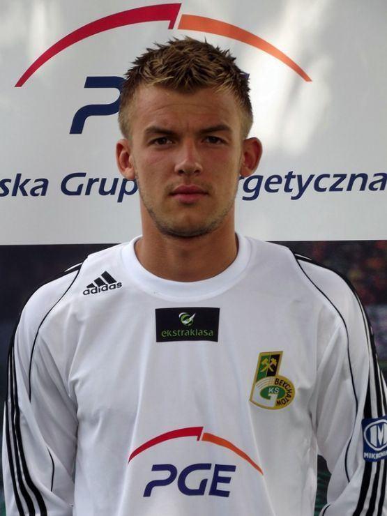 Filip Modelski Filip Modelski w PGE GKS dzki Futbol