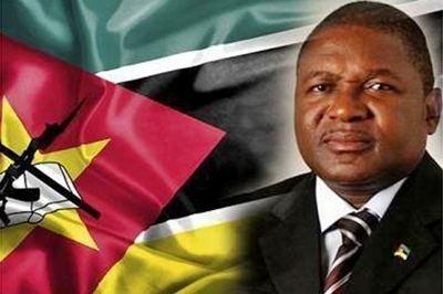 Filipe Nyusi Mozambique President Filipe Nyusi accorded Guard of Honour at