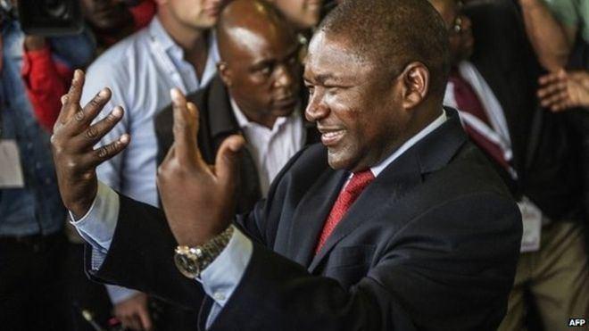 Filipe Nyusi Mozambique polls Frelimos Nyusi to be next president BBC News