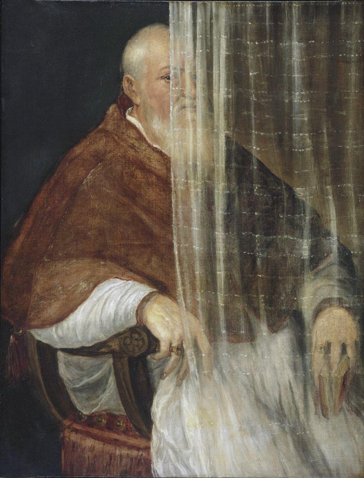 Filippo Archinto FileTitian Portrait of Cardinal Filippo Archinto 1558jpg