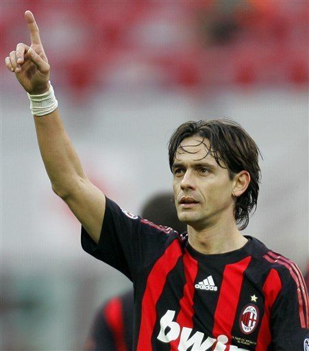 Filippo Inzaghi AC Milan And Filippo Inzaghi An Everlasting Bond