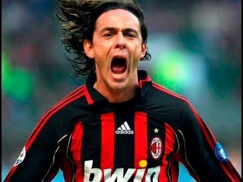 Filippo Inzaghi Filippo Inzaghi All Goals for AC Milan YouTube
