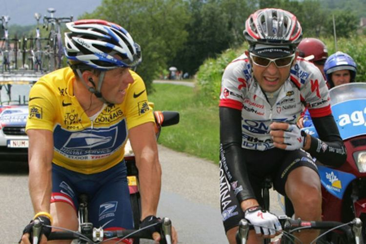 Filippo Simeoni Lance Armstrong and Filippo Simeoni ABC News Australian