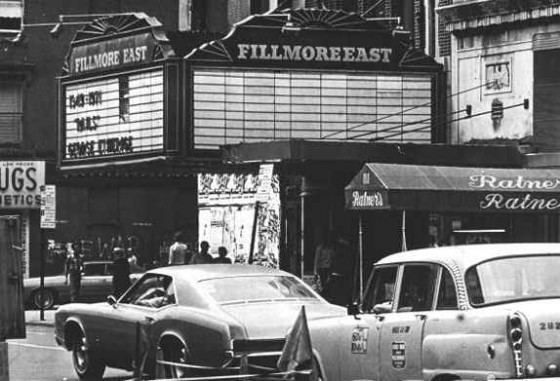Fillmore East Live at the Fillmore East A History of 105 2nd Avenue Bowery Boogie