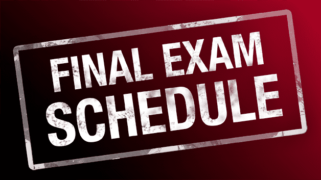 Final examination June Final Exam Schedule Wexford Collegiate School for the Arts