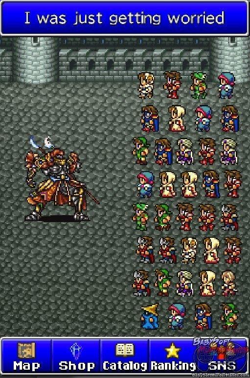 Final Fantasy All the Bravest Square Enix releasing Final Fantasy All The Bravest