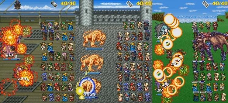 Final Fantasy All the Bravest Final Fantasy All The Bravest Trailer Released