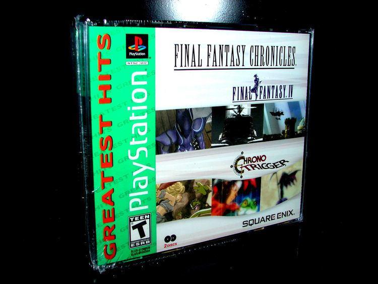 Final Fantasy Chronicles Final Fantasy Chronicles Final Fantasy IV amp Chrono Trigger Sony