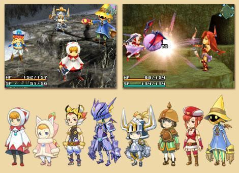 Final Fantasy Crystal Chronicles: Ring of Fates Final Fantasy Crystal Chronicles Ring of Fates screens Art Pure