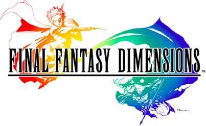 Final Fantasy Dimensions Final Fantasy Dimensions Wikipedia