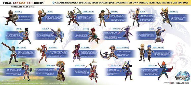 Final Fantasy Explorers Review Final Fantasy Explorers 3DS Nintendojo