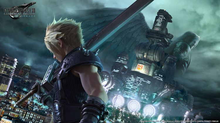 Final Fantasy VII Final Fantasy VII Remake key visual unveiled Gematsu