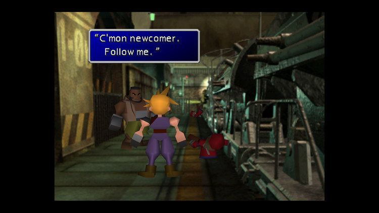 Final Fantasy VII FINAL FANTASY VII on PS4 Official PlayStationStore US