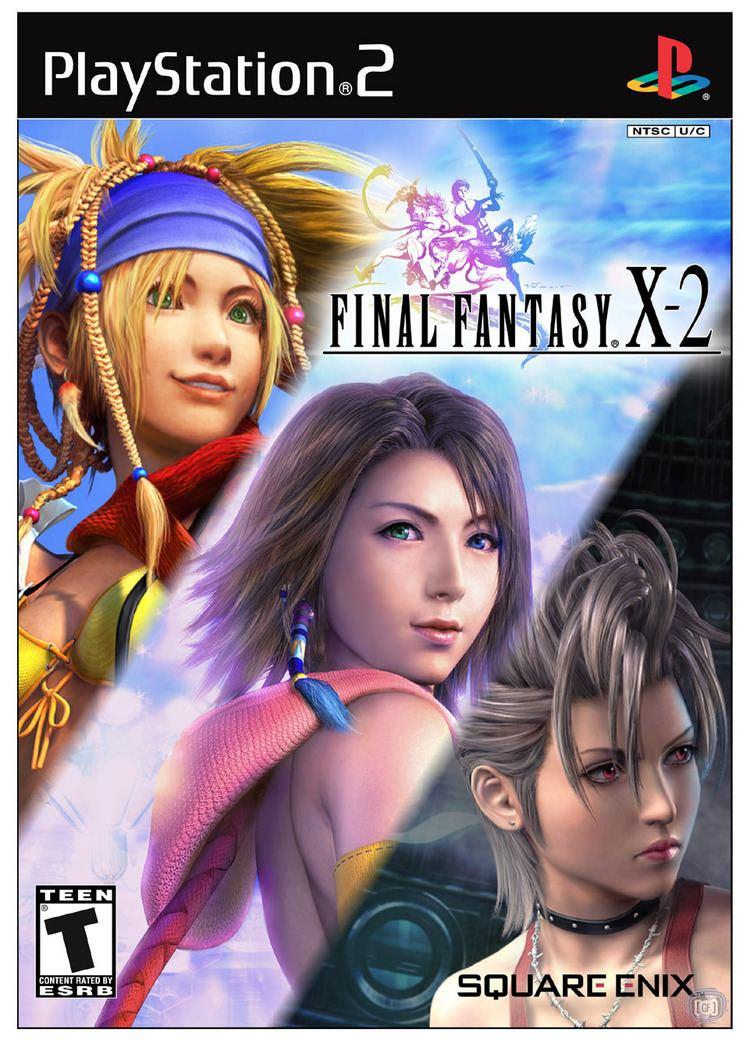 Final Fantasy X-2 wwwffshrineorgffx2coverscansffx2usjpg