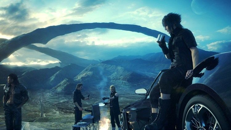 Final Fantasy XV East awkwardly meets West in the first 5 hours of Final Fantasy XV