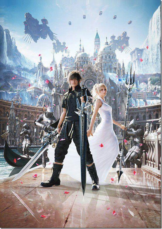 Final Fantasy XV Final Fantasy XV Got A Pretty New Key Art With Noctis And Lunafreya