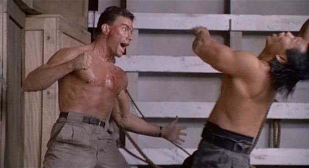 Final Impact (film) movie scenes Alex and Chad arrange to destroy the lab by planting C4 in the complex one night but Chads clumsiness triggers a massive gunfight The lab is destroyed