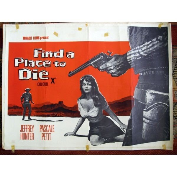 Find a Place to Die Find a Place To Die 1968 Original British Quad