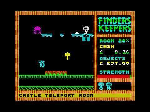 Finders Keepers (1985 video game) FINDERS KEEPERS ZX Spectrum Game Review YouTube
