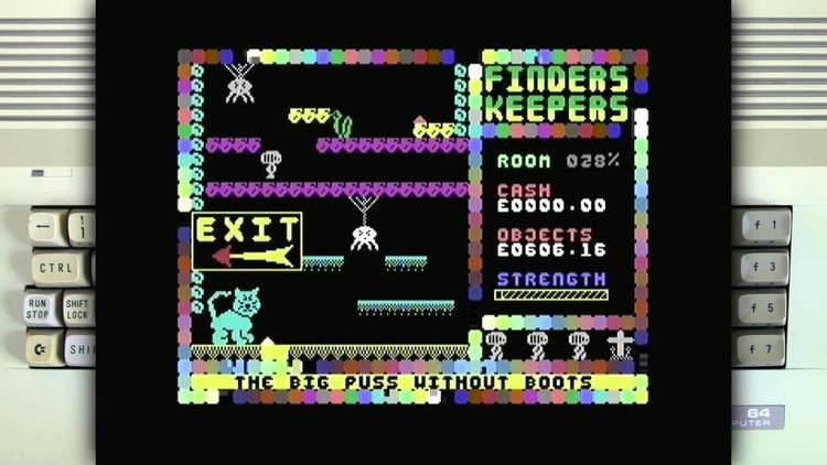 Finders Keepers (1985 video game) Finders Keepers on the Commodore 64 YouTube